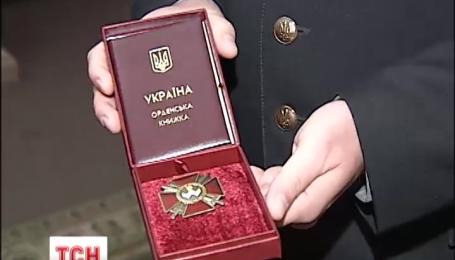 Министр обороны наградил офицеров ко Дню вооруженных сил Украины