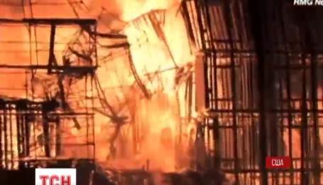 Масштабна пожежа спалахнула в Лос Анджелесі