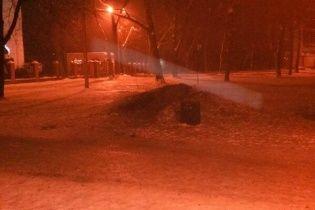 В харьковском парке взорвали памятную доску воинам УПА
