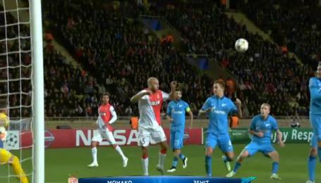Монако - Зенит - 2:0. Видео матча