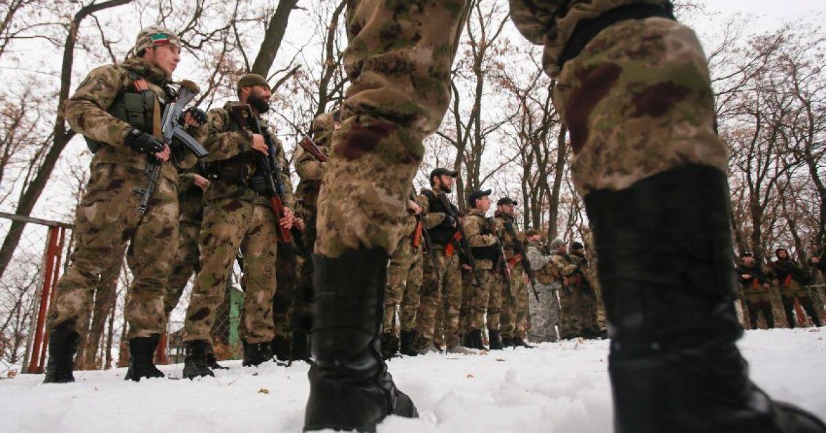 Прихильники Путіна з Чечні приїхали нести смерть на Донбасі. @ Spiegel Online