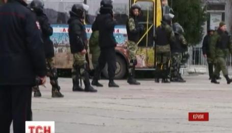Окупаційна влада Криму зірвала мітинг кримських татар