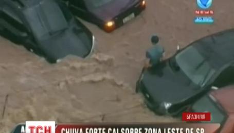 Потужна повінь вразила Сан-Пауло