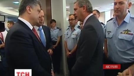Порошенко встретился с членами австралийской рабочей группы по расследованию катастрофы рейса МН-17