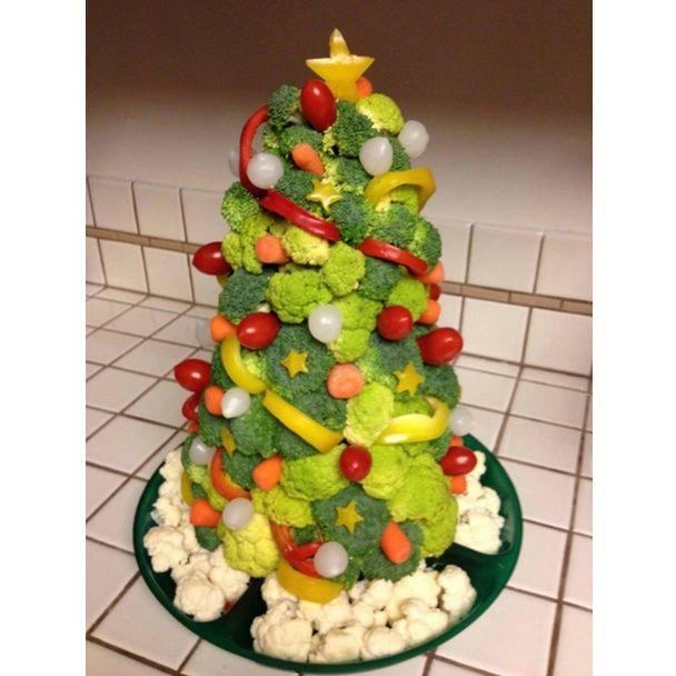 Овощные салаты к новогоднему столу с фото