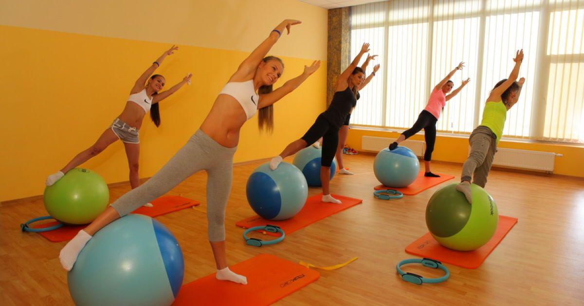 Кошелева занималась фитнесом @ aurafit.com.ua