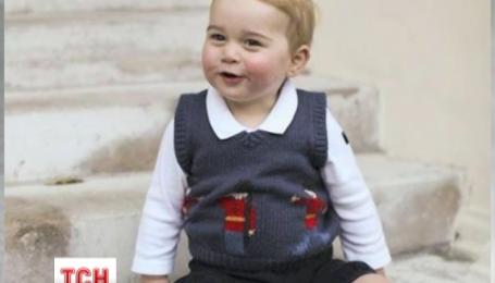 Британская королевская семья показала фото будущего наследника престола принца Джорджа