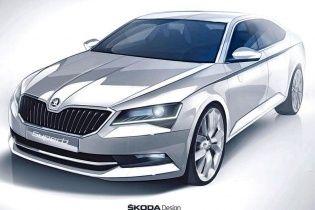 Skoda показала первые изображения нового Superb