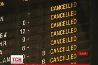 В Бельгии остановились автобусы, поезда и не летают самолеты