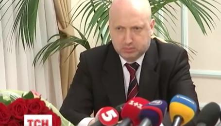 Турчинов став новим секретарем РНБО