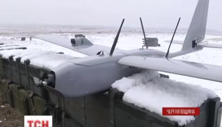 Новий безпілотник випробували на військовому полігоні на Чернігівщині