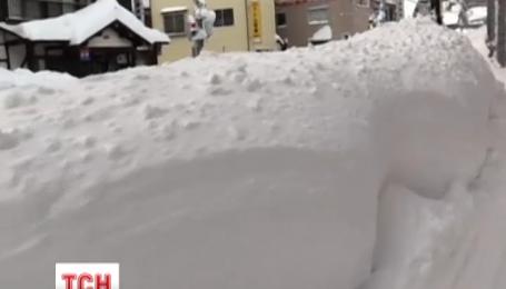 Снігопад в Японії забрав життя 5 людей