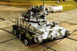 Українські військові в зоні АТО отримали унікальний танк