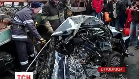 Жахлива аварія сталася вдень у Дніпропетровську
