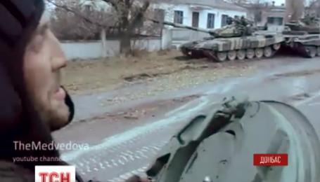 Российские войска частично отходят от линии разграничения