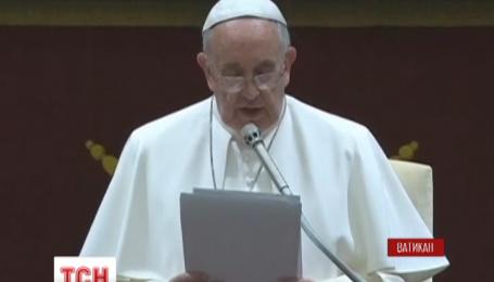 Папа римский выступил с жестокой критикой членов римской курии