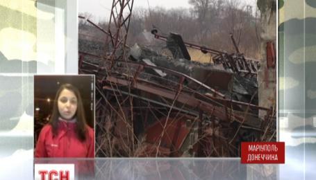 В Мариуполе взорвали железнодорожный мост