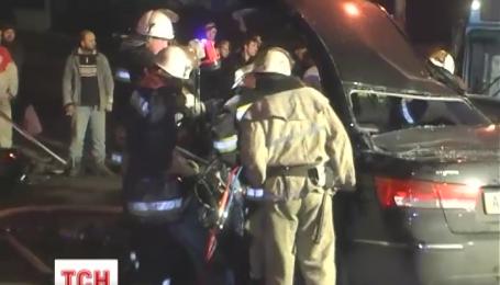 В аварії на Протасовому Яру загинули дві людини