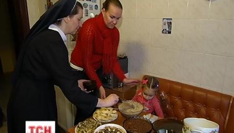 Христиане западного обряда отмечают Святвечер