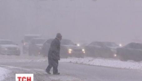У Москві сталось 500 аварій за одну годину