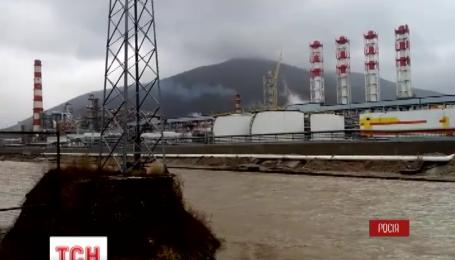 Через розлив нафти в Чорному морі в Туапсе ввели режим НС
