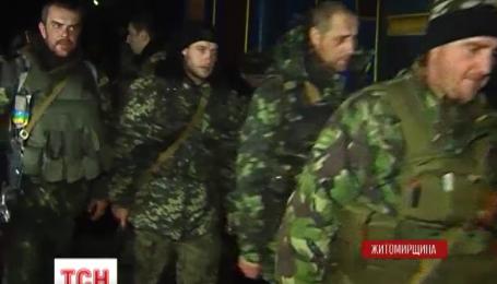 Домой в Житомирскую область вернулись 416 бойцов