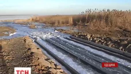 У Куяльницький лиман почали подавати воду з Чорного моря