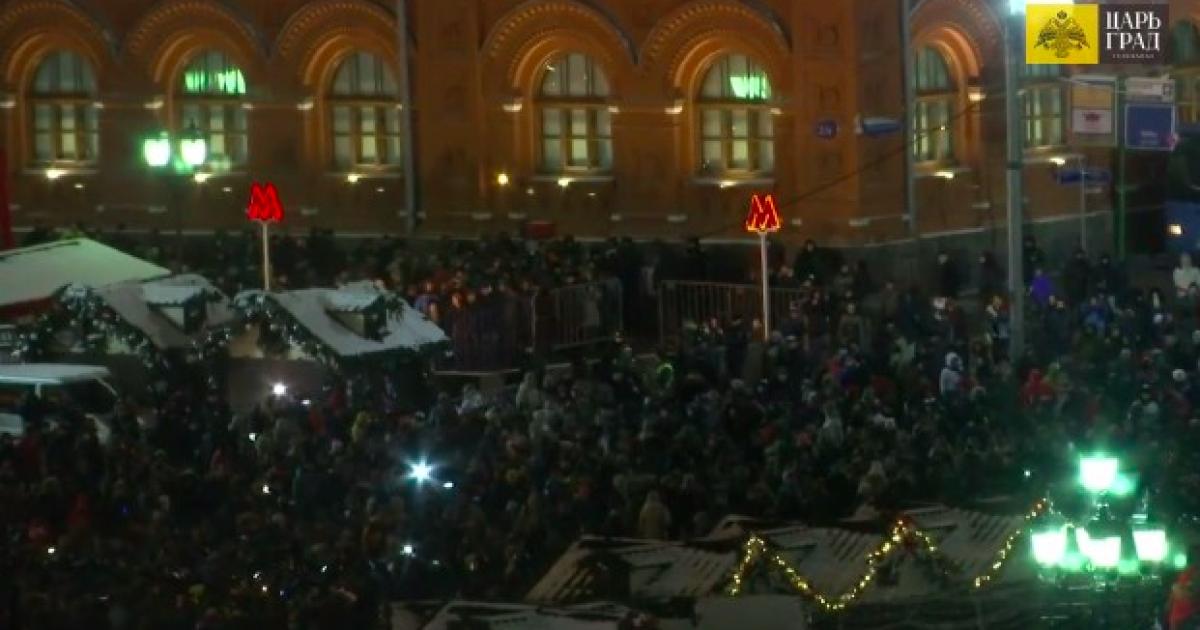 На площі залишилося дуже мало людей @ Фото з соцмереж