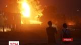 В Василькове на Киевщине горит нефтебаза