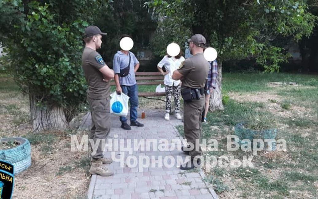 """© КУ """"Муніципальна Варта"""" Чорноморська"""