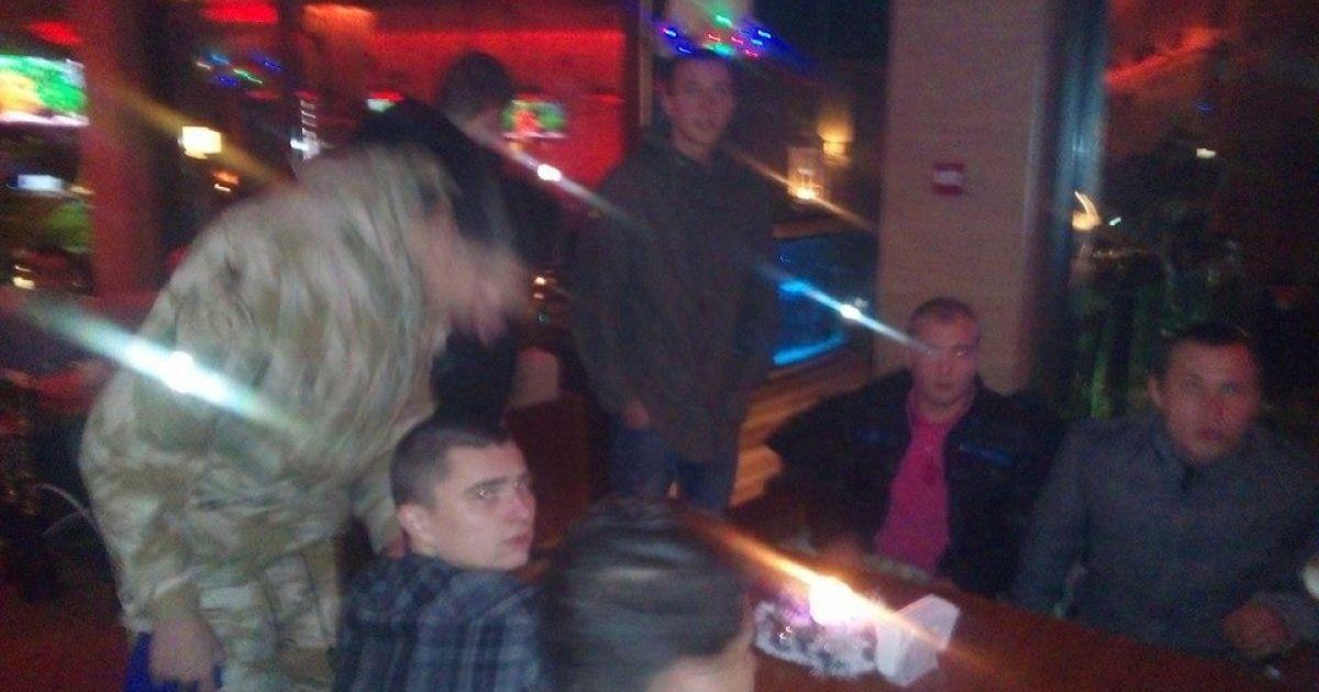 Одесские активисты сдали правоохранителям Панина @ facebook.com/markgordienko1968
