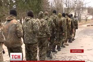 Добровольцы УНСО входят в новый 55-й батальон Вооруженных сил Украины