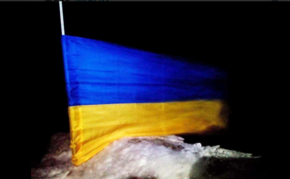 Український прапор у Криму