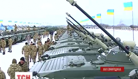 Более сотни единиц техники пополнили украинскую армию