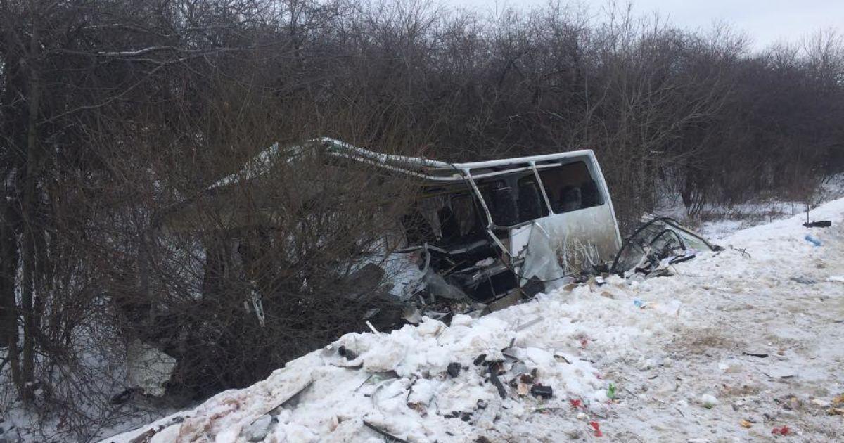 Фото с места трагической аварии / Григорий Жигалов, корреспондент ТСН @ euronews.com
