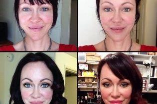 У мережі показали, як порнозірки виглядають до та після макіяжу