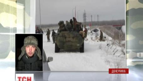 Защитников Песков и донецкого аэропорта обстреляли в ночь перед Рождеством