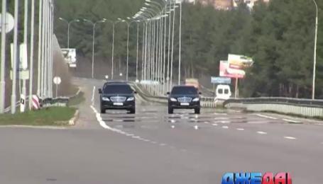 Аваков проехал по Киеву с кортежем