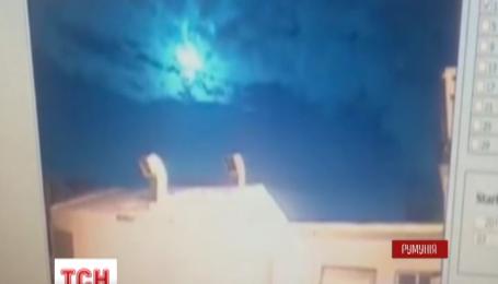 Над Бухарестом сгорел метеорит