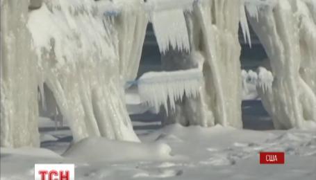 США страдают от сильных морозов