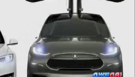 Tesla показала внедорожник на батарейках