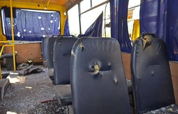 Автобус, Волноваха