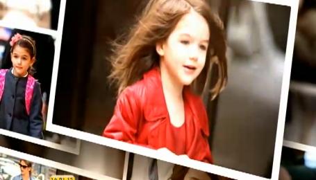 Дочь Тома Круза носит только эксклюзивную обувь