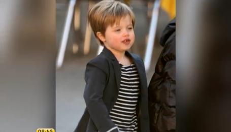 Дочь Брэда Пита мечтает быть мальчиком