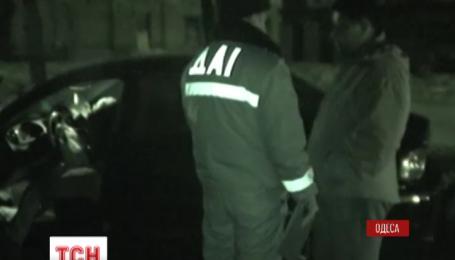 В Одессе мажоры устроили разборки на месте ДТП