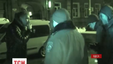 Одесские мажоры причиной ДТП и устроили разборки