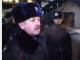 Петр Федчук в форме российской полиции.