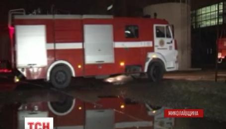 На території Південно-Українській АЕС сталася пожежа