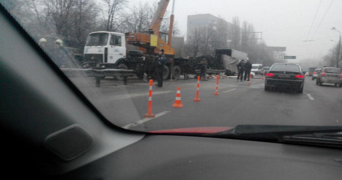 Сегодня на улице Телиги в Киеве произошла авария @ m2motors.com.ua