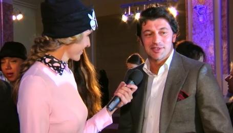 Каха Каладзе посещает показы мод жены
